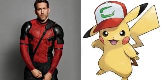 Ryan Reynolds Pikachu