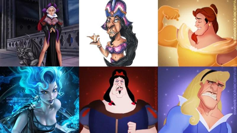 7 Disney Villains Reimagined As Disney Princesses