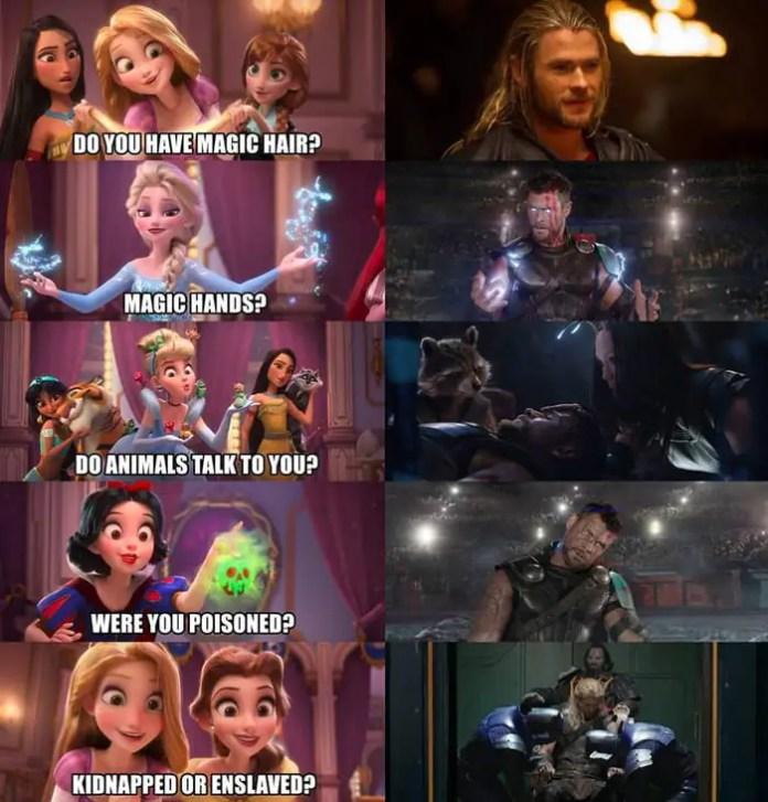 Thor Disney Princess