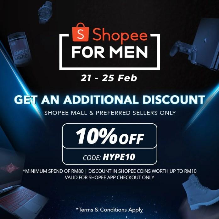 Shopee For Men