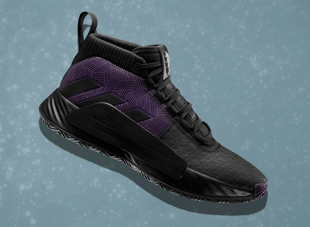 the latest 18bc5 cfb1e marvel-adidas-dame-5-black-panther