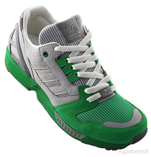 Behold. adidas ZX8000 Goodfoot. They put the G in Green.