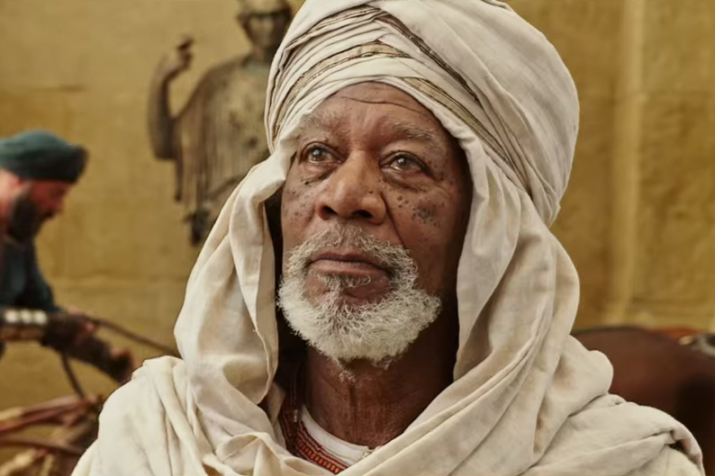 Image result for morgan freeman ben-hur image