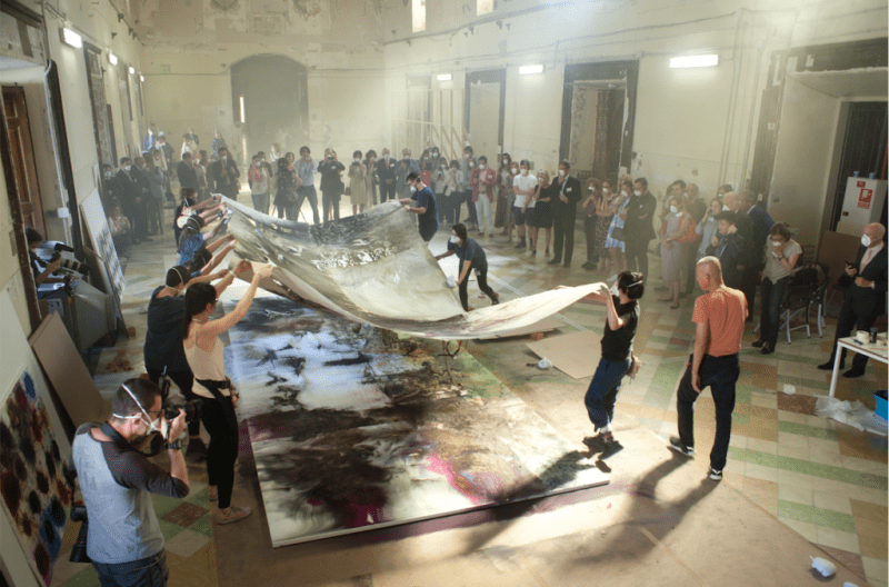 Cai Guo Qiang The Spirit of Painting The Prado Museum Exhibition 2017 October 2018 March 4 Closing Opening