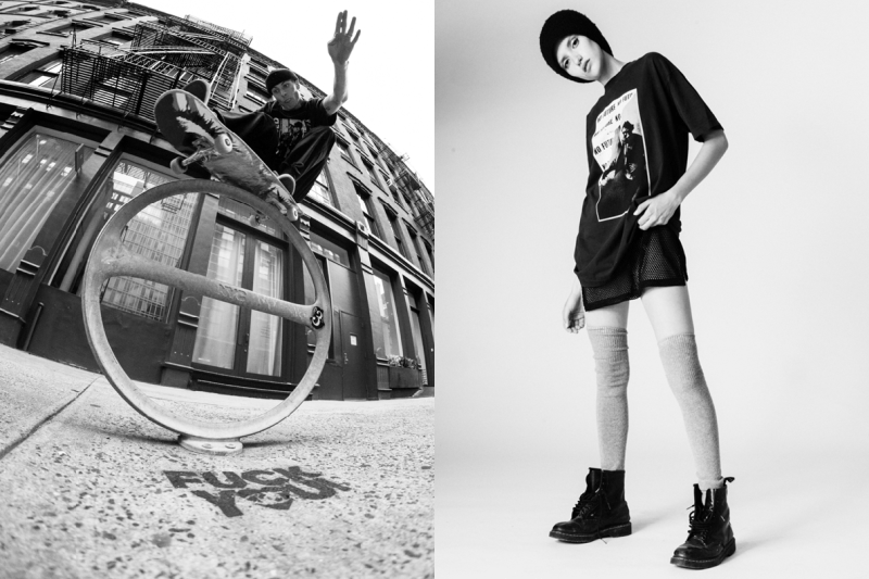 FACT. Joy Division Lookbook transmission music dance acid house rave new york Los Angeles Streetwear smiley face styling Damon Way streetwear subcultures creative fall winter 2018 union los angeles buy sale sell damon way