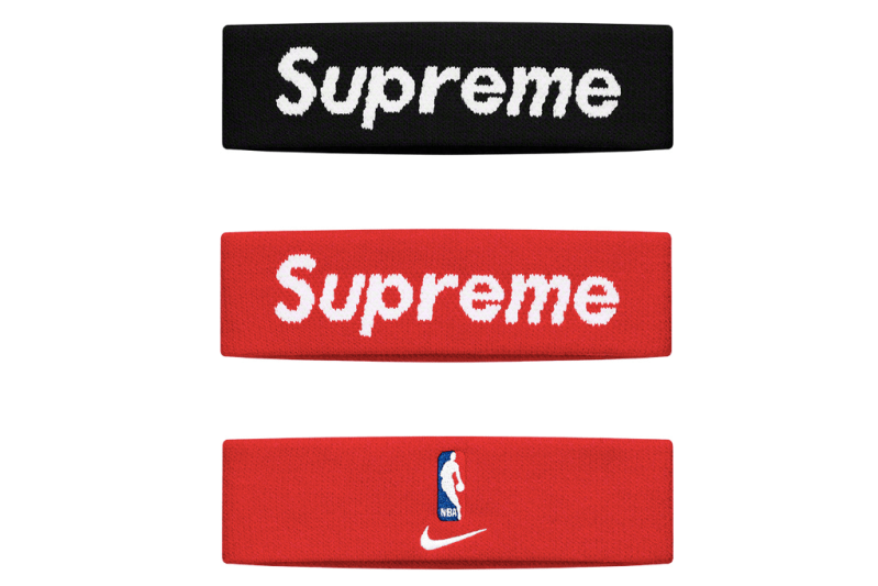 Supreme Spring/Summer 2019 Accessories NBA Headbands