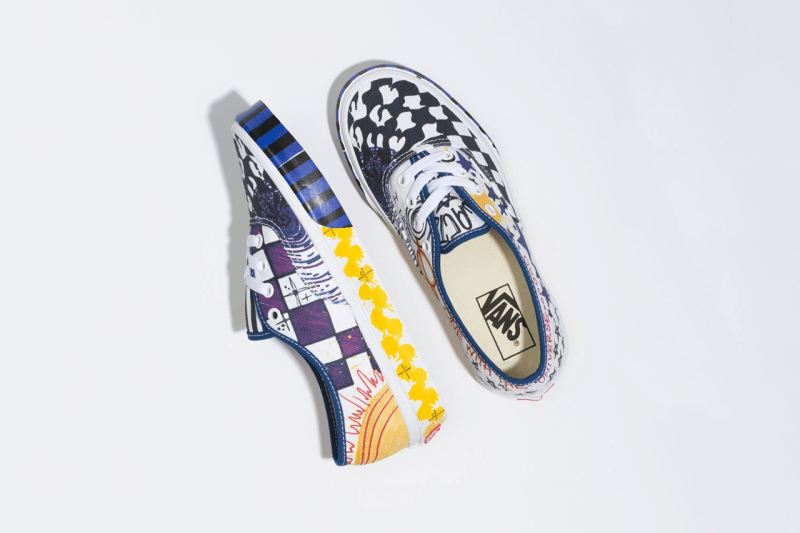 "Vans Sk8-Hi & Authentic ""Galactic Goddess"" Pack release date drop info graphic print drawing"