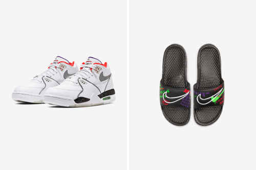 "Nike Air Flight '89 and Benassi Add to the ""Planet of Hoops"" Pack"