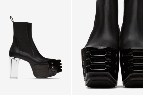 Rick Owens Keeps it Androgynous With Futuristic Chelsea Boots