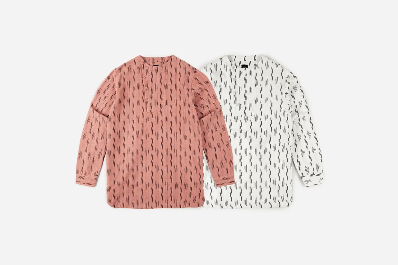 maharishi weave ikat apparel collection spring summer 2020 fashion drops