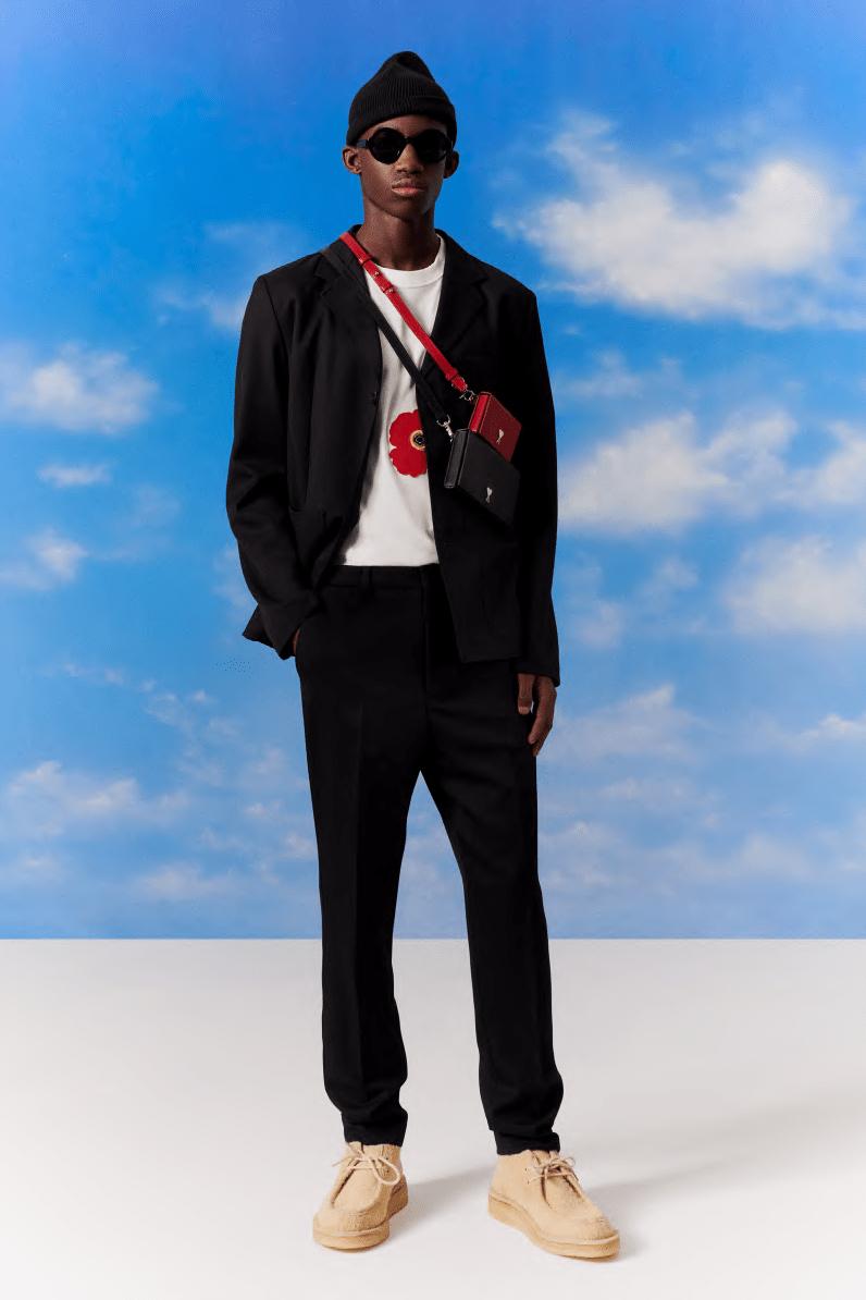AMI Pre-Fall 2020 Collection Alexandre Mattiussi Menswear David Hockney Peter Schlesinger Nostalgic '70s Sportswear Moccasins Sandals Sneakers Sweaters