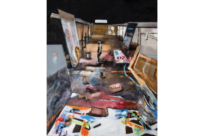 marcus jansen cornell fine arts museum exhibition paintings