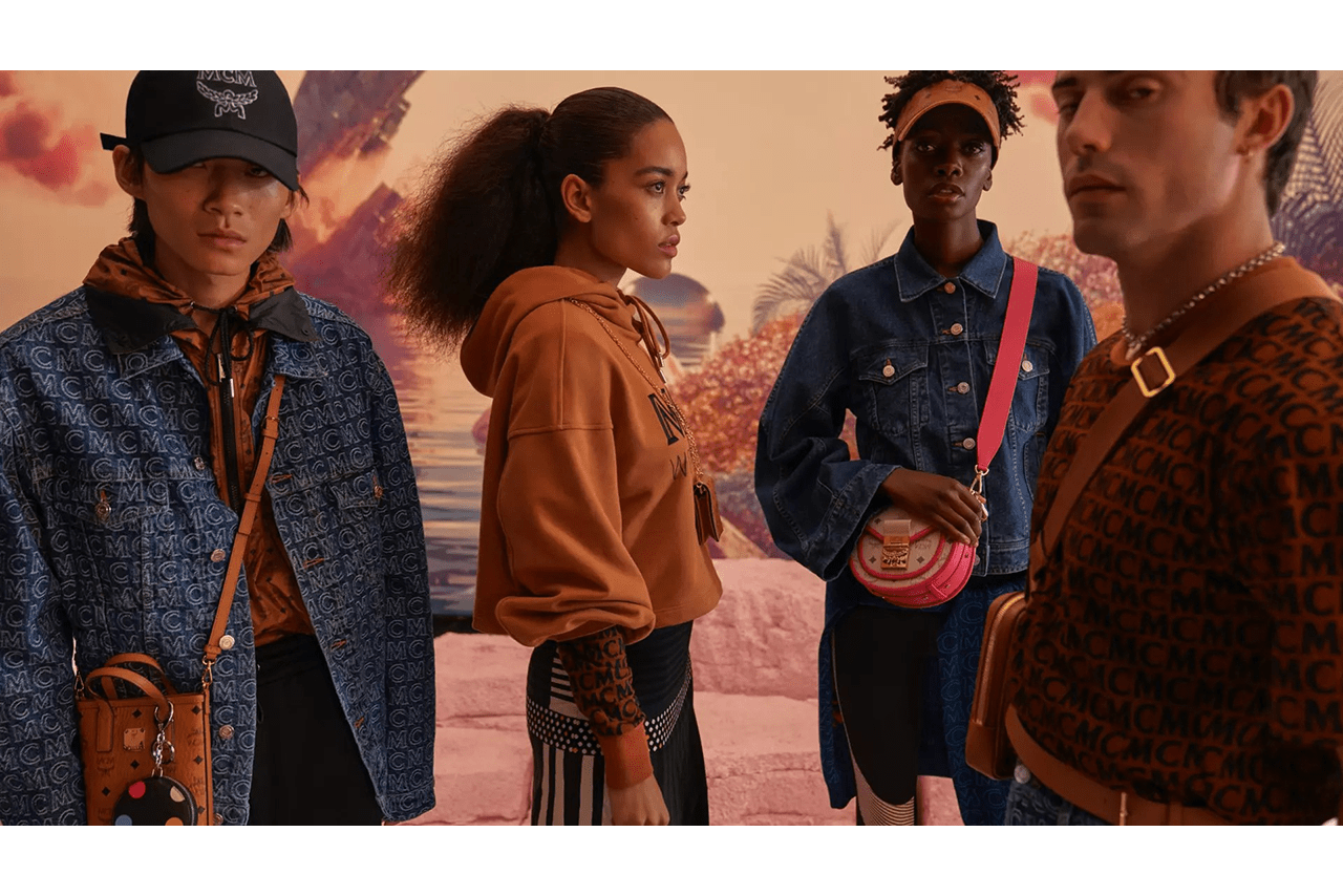 MCM Fall/Winter 2020 HYPERTECHNOREALITY Campaign collection fw20 lookbook