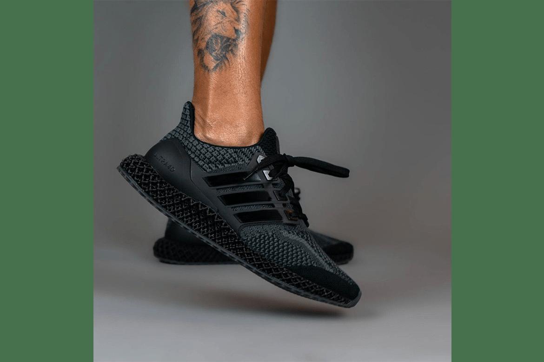 adidas Ultra4D in Triple Black