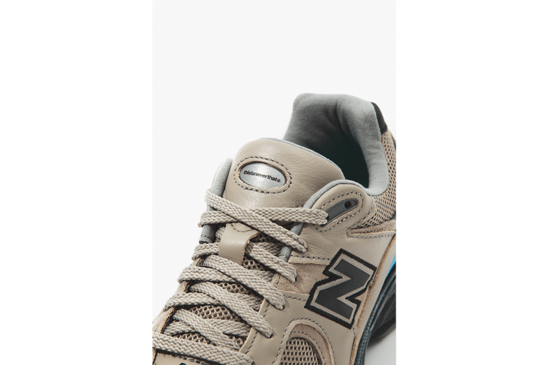 thisisneverthat x New Balance 2002R White Gray Colorways Sneaker Release Information Closer Look HBX Raffle Drop Date Online Cop South Korean Streetwear Sportswear NB Collaboration Limited Edition