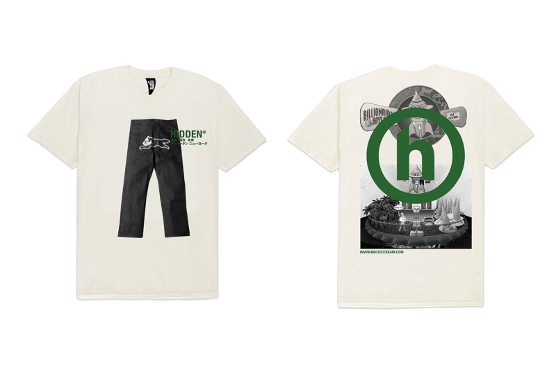 HIDDEN.NY x BBC ICE CREAM Apparel Collaboration collection billionaire boys club release date info buy h logo web store socks