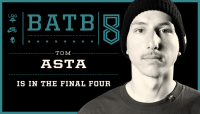 TOM ASTA IS IN THE FINAL FOUR