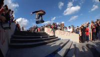 Plan B Demo at Sheldon Plaza -- & Cardboard Skate Shop