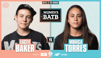WBATB Semifinals: Lacey Baker Vs. Monica Torres