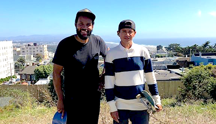 Chico Brenes & Ray Barbee Have a Legendary Sesh At SF's Fort Miley