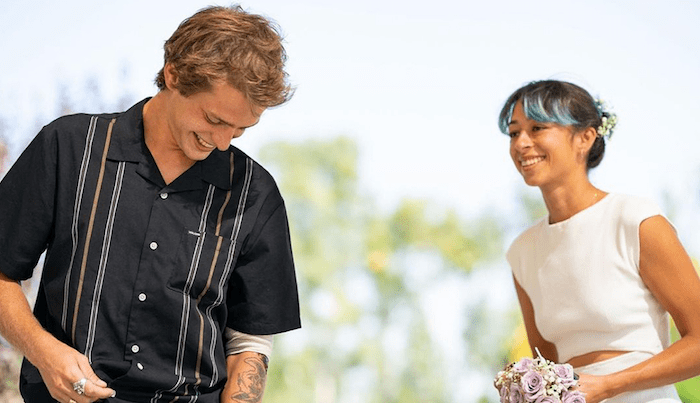 Pros Lizzie Armanto & Axel Cruysberghs Get Married