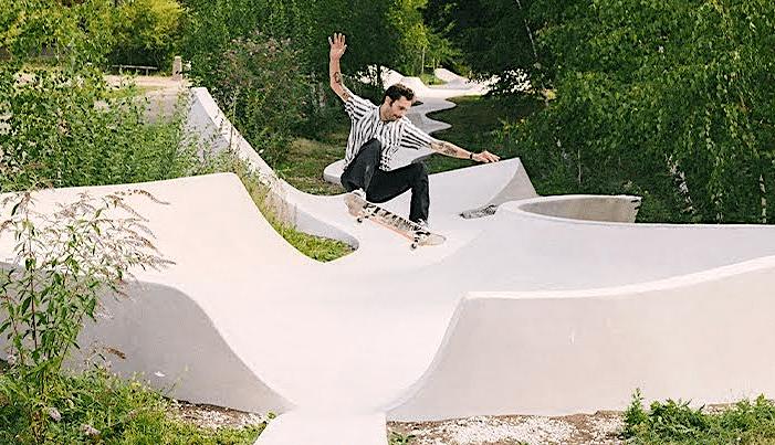 Carhartt WIP Explores Galleria Continua's Skate Space