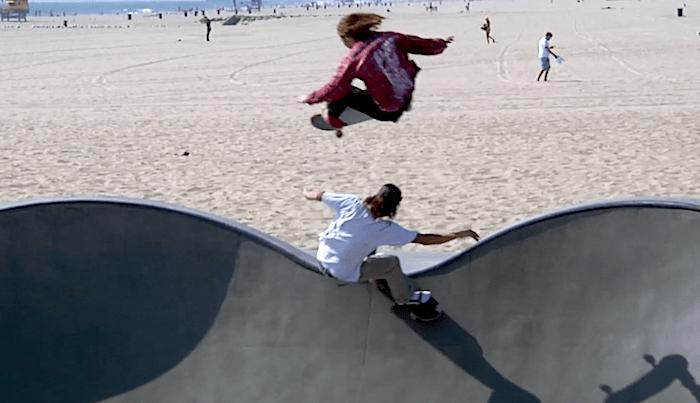 Watch Indy's Milton Martinez, Leandre Sanders & Mason Silva Skate Venice Park