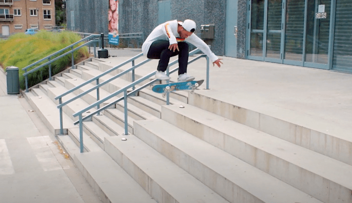 Watch Jonathan Franc's 'Employee Of The Year' Part Here