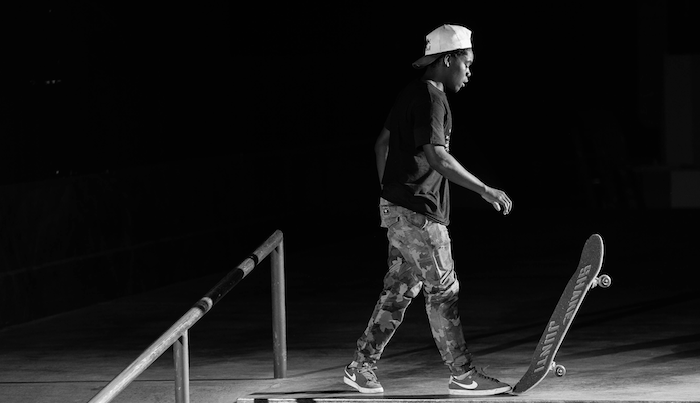 Zion Wright Shares Some Of His Gnarlier Skate House Stories