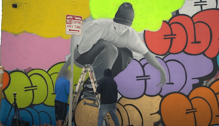 Graffiti Artist HUFR Commemorates Keith Hufnagel With Mural In LA