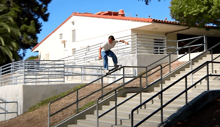 Watch Julian Lewis's Part For Mob Grip Here
