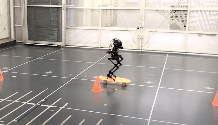 CalTech Engineers Have Built a Skateboarding Robot