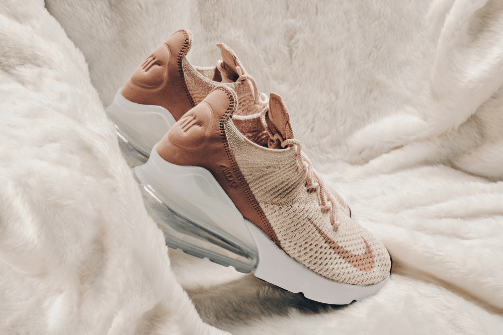 Nike Air Max 270 Flyknit Guava Ice Desert Dust