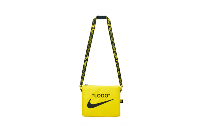 Off-White x Nike Athlete In Progress Cross Body Back Yellow