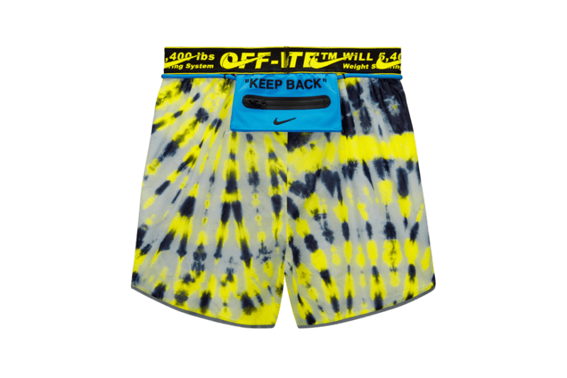 Off-White x Nike Athlete In Progress Shorts Tie Dye