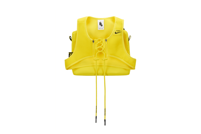 Off-White x Nike Athlete In Progress Utility Vest Yellow