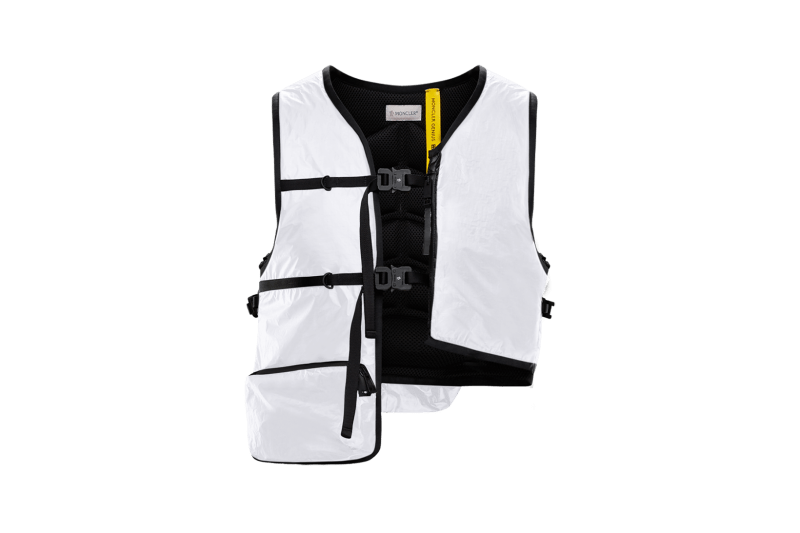 6 MONCLER 1017 ALYX 9SM Collection Buckle Vest White