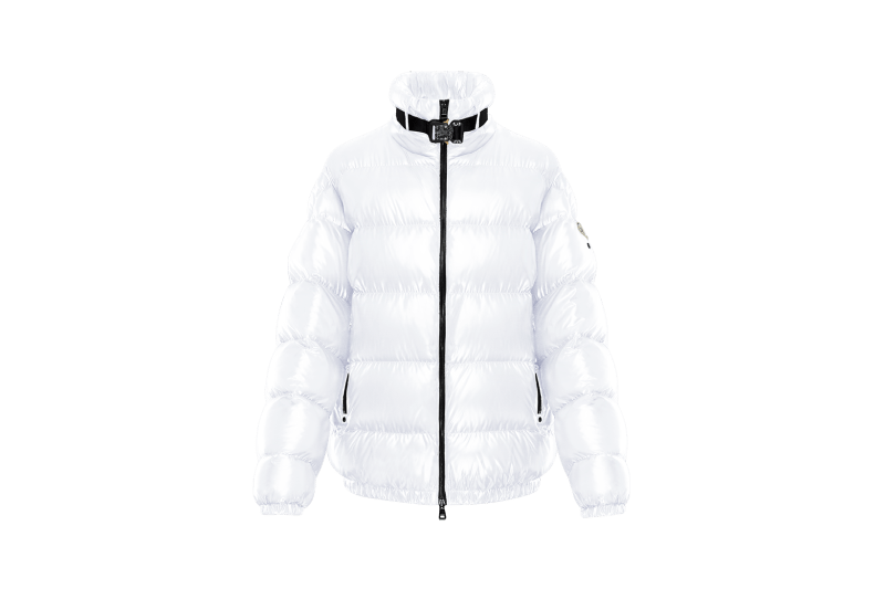 6 MONCLER 1017 ALYX 9SM Collection Puffer White Buckle