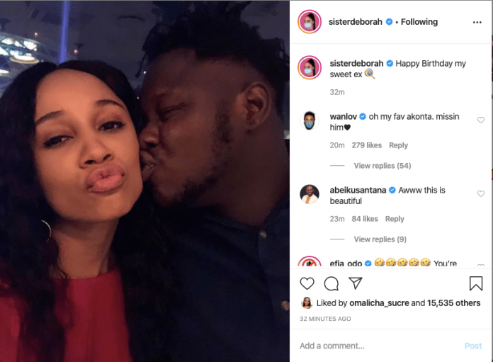 Sis Derby wishes Medikal on his birthday