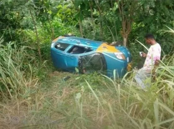 Final Year SHS student dies in a fatal accident on her way back to school