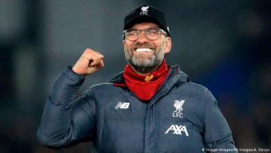 Jurgen Klopp has been named the Premier League's manager of the season