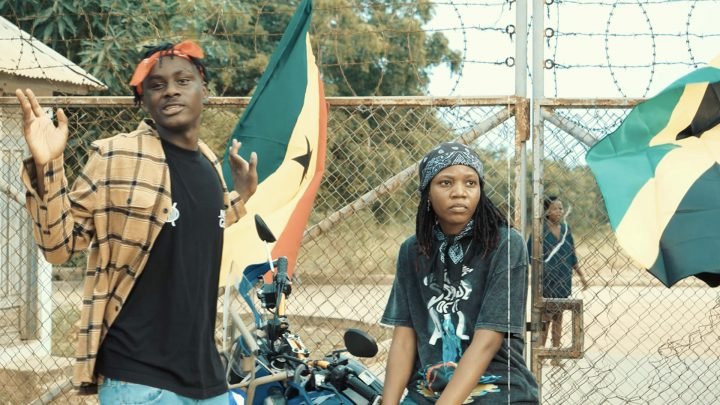 "Larruso Reps Ghana And Jamaica In New Video For ""Poisonous"""