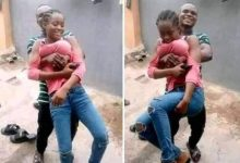 See How Guy Grabs His Girlfriend From the Chest and Social Media Burst into Flams!!! - TOKTOK9JA MEDIA