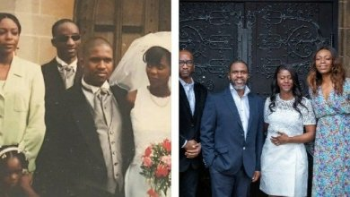 A couple remarries in a lavish ceremony after a ten-year divorce 2