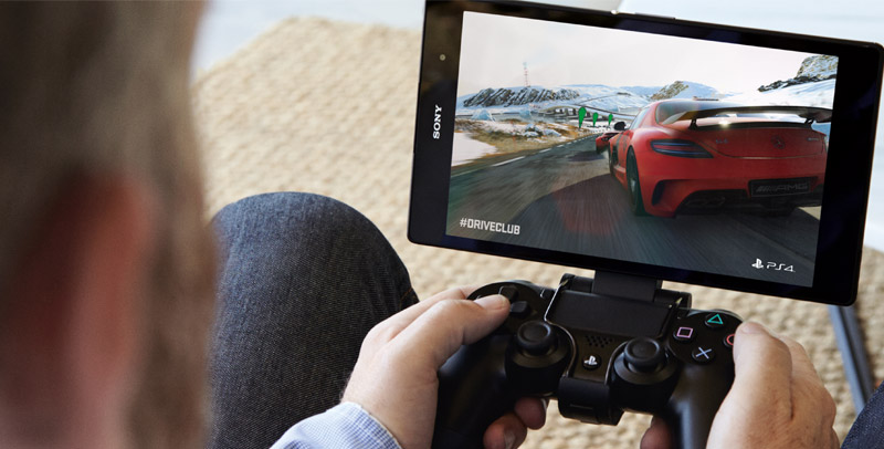 Z3 Tablet Compact Playstation 4