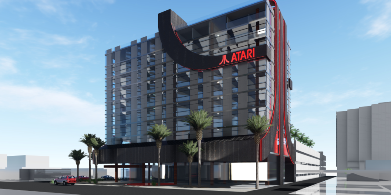 Atari-branded hotels with e-sports studios and game rooms are coming to North America