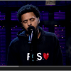 J COLE DELIVERS EMOTIONAL PERFORMANCE ON THE DAVID LETTERMAN SHOW Cole