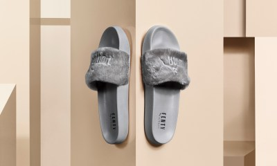 New FENTY By PUMA Grey Colourway Fur Slide Dropping This Friday [SneakPeak] PUMA Rihanna FENTY Fur Slide Grey lo
