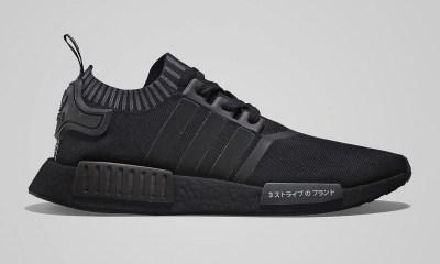 adidas NMD R1 All-Black 'Japan Black Boost' [SneakPeak] adidas nmd r1 primeknit japan black boost 01 1200x800 1