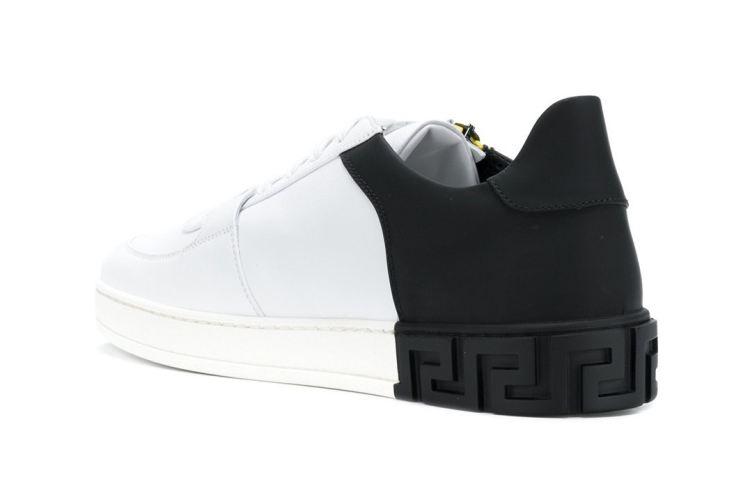 New Versace Medusa Silhouette [SneakPeak] versace side zip medusa sneakers 003